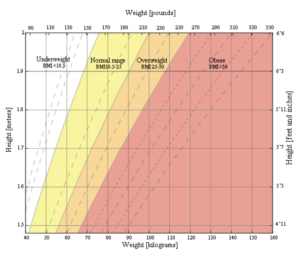 BMI-kalkulator oversikt